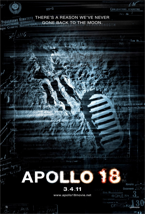 New Apollo 18 Clip Touches Down
