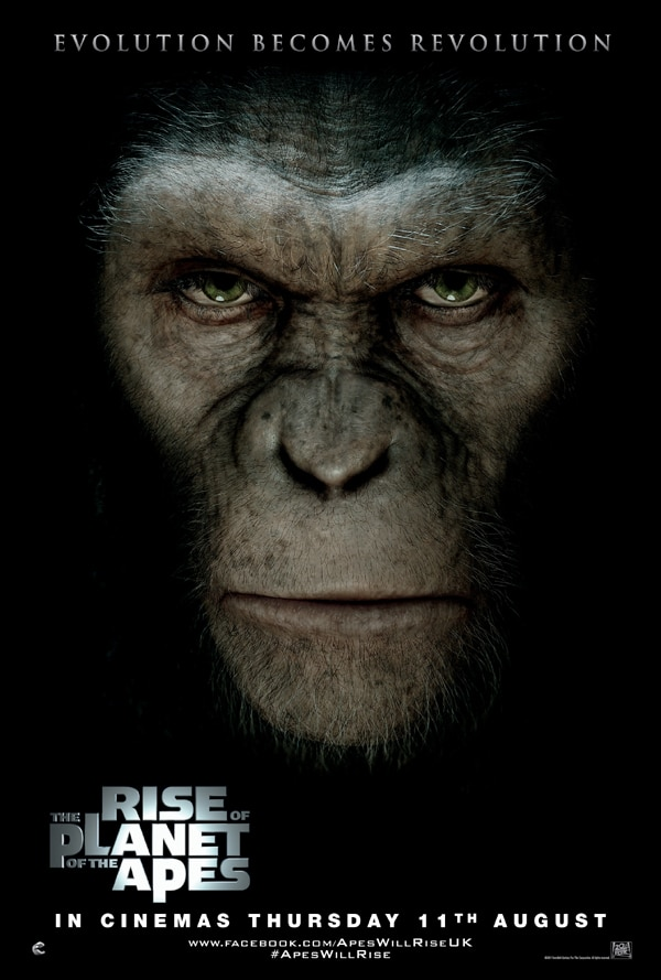 Another New UK Poster for Rise of the Planet of the Apes