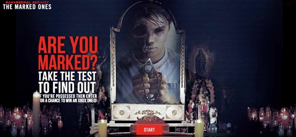 New Paranormal Activity Website Asks - Are You Marked? Exclusive New Clip!