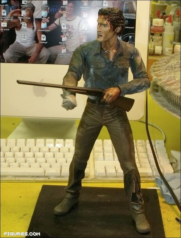 Groovy New Look at NECA's Evil Dead 2 Ash