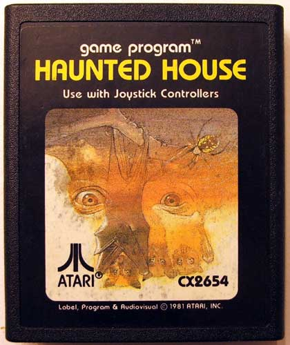 Atari's Haunted House - Then and Now! New Screens!