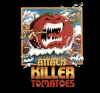 Attack of the Killer Tomatoes Merchandise On Its Way
