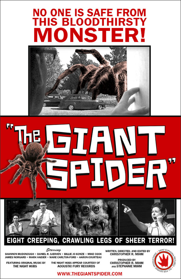 b movie giant spider - The B-Movie Road Tour Bringing Spooky Drive-In Fun to the Masses