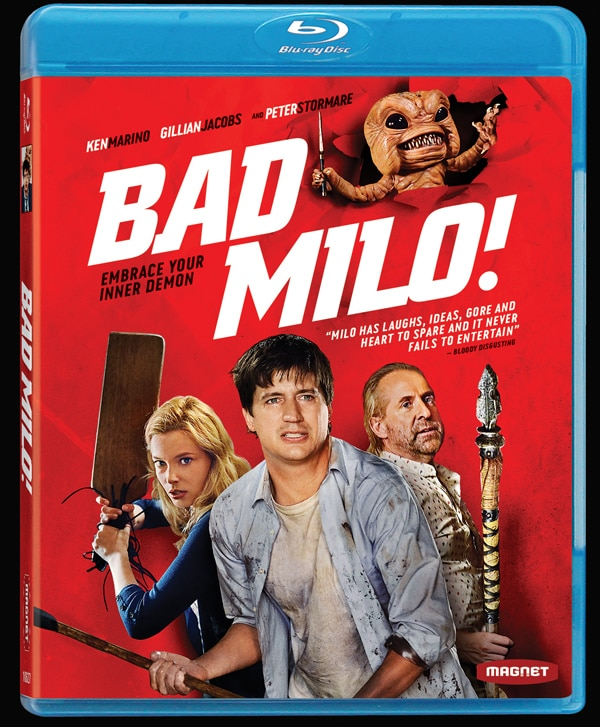 bad milo blu ray - Bad Milo Crawls Out of the Rectum and Into Your Home Video Collection