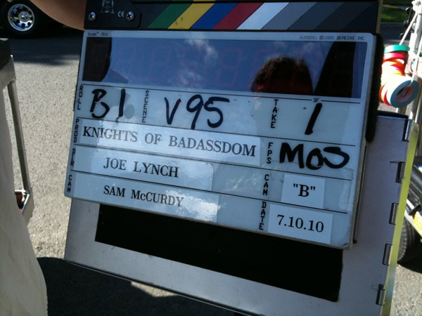More Behind-the-Scenes Images: Joe Lynch's The Knights of Badassdom