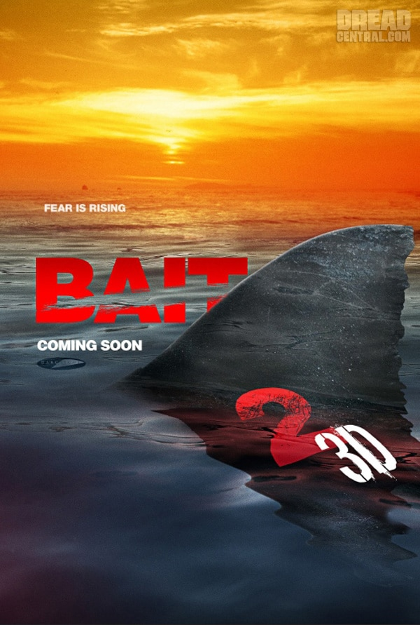 Early Sales Art for Bait 2 3D Breaks the Surface
