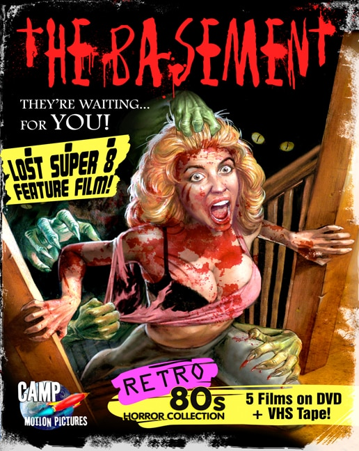 Camp Motion Pictures Offer Retro '80's 'Big Box' Film Collection Featuring The Basement