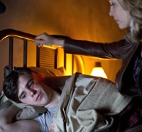 Norman Plays with His Bird in Latest Bates Motel Imagery