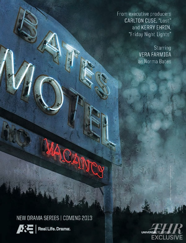 First Artwork for Bates Motel Checks In