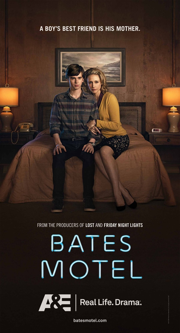 batesposter - Look Behind the Scenes at the Writing, Directing, and Designing of A&E's Bates Motel