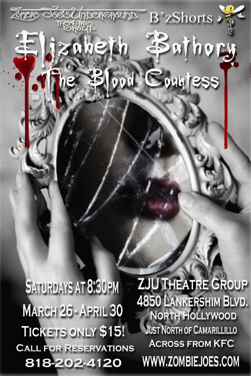 Elizabeth Bathory, The Blood Countess to Hit the ZJU Theatre Group Stage
