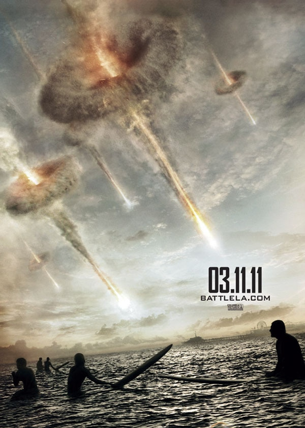 The Latest Battle: Los Angeles One-Sheet Reminds Us to Keep Watching the Skies!