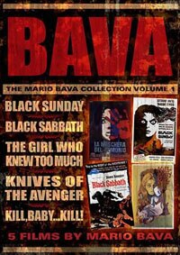 The Mario Bava Collection Volume 1 DVD Box Set (click for larger image)
