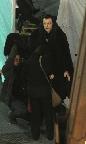 A Behind-the-Scenes Look at the Volturi from the Set of The Twilight Saga: Breaking Dawn