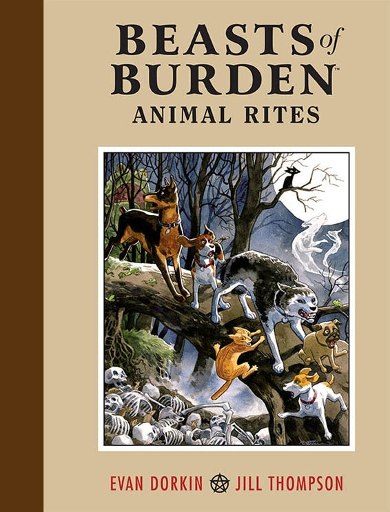 Dark Horse's Beasts of Burden Set for Development as an Animated Feature