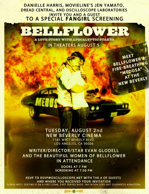 In or Near LA? Attend a Special Screening of Bellflower with Cast Members and More!