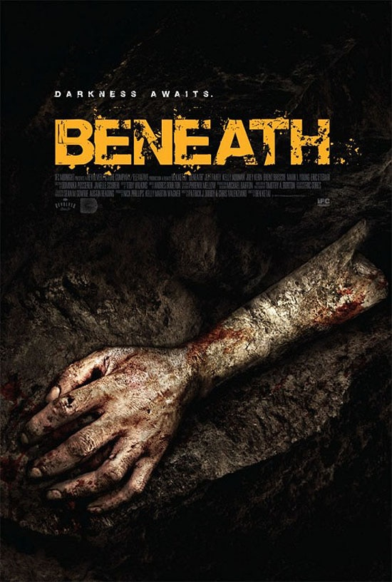 beneath poster - New One-Sheet Crawls Up From Beneath