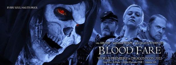bfbanner1 - Blood Fare to Have its World Premiere During Dragon*Con 2012; New Banner Artwork Unveiled