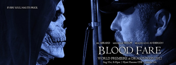 bfbanner2 - Blood Fare to Have its World Premiere During Dragon*Con 2012; New Banner Artwork Unveiled