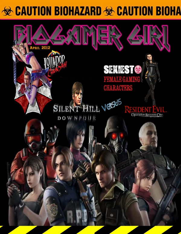 BioGamer Girl Brings the Horror For Spring 2012
