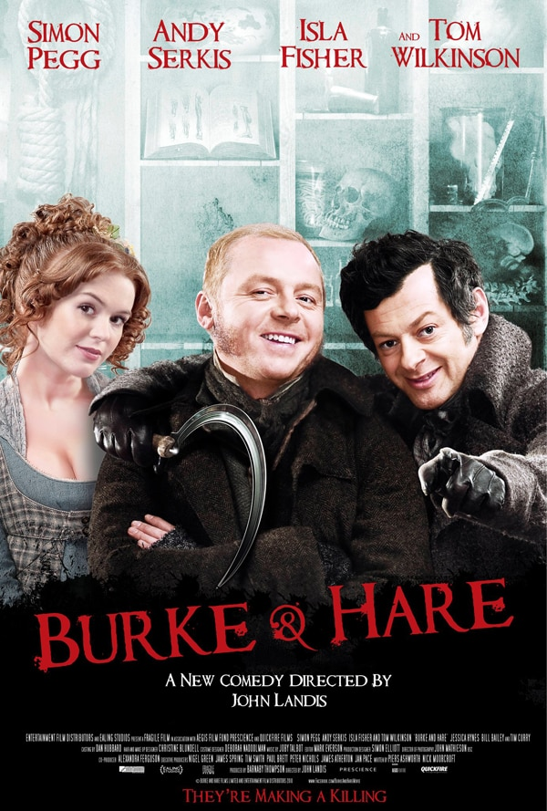 U.S. Trailer Debut - IFC's Burke and Hare; Release News