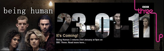 bhbanner - Watch the First Four Minutes of Being Human Episode 3.02 - (Dead) Girls Just Want to Have Fun