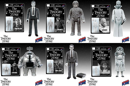 Bif Bang Pow! Officially Announces New 3-3/4-Inch Twilight Zone Action Figures