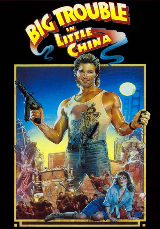 Big Trouble in Little China Goes Blu!