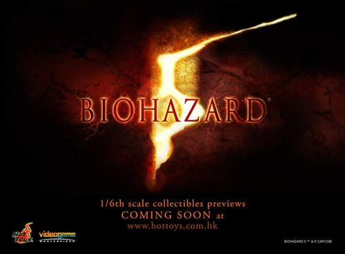 Biohazard 5 Figures Coming from Hot Toys