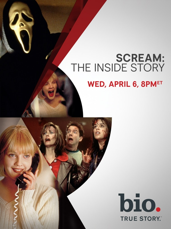 Airdate Set for Scream: The Inside Story on the BIO Channel