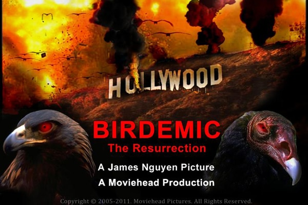 Angry Birds! James Nguyen Talks Birdemic 2: The Resurrection 3D