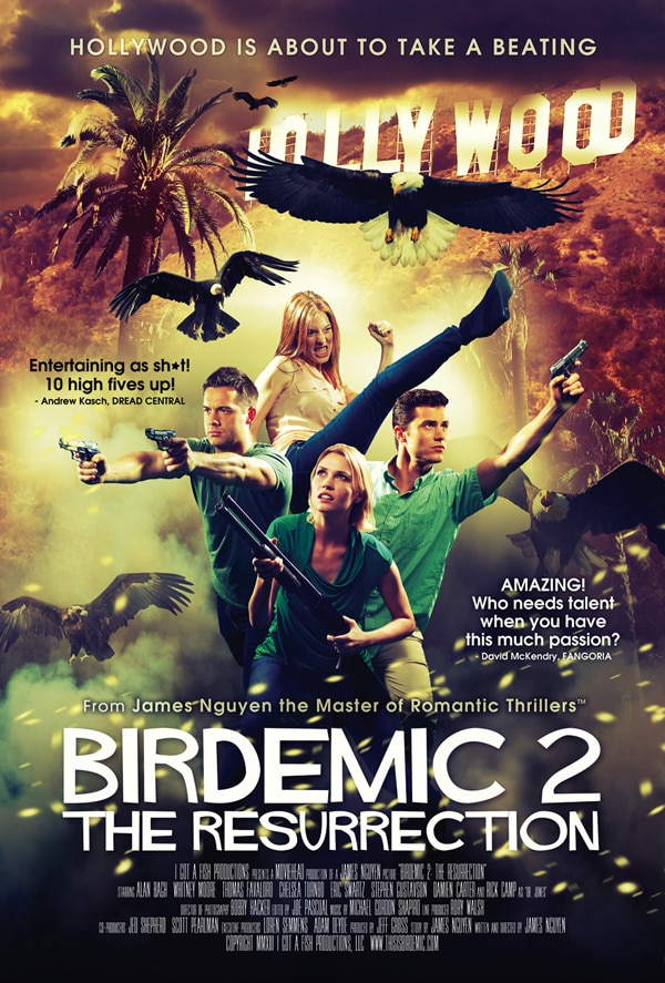 New Birdemic II: The Resurrection Poster Sets Hollywood on Fire