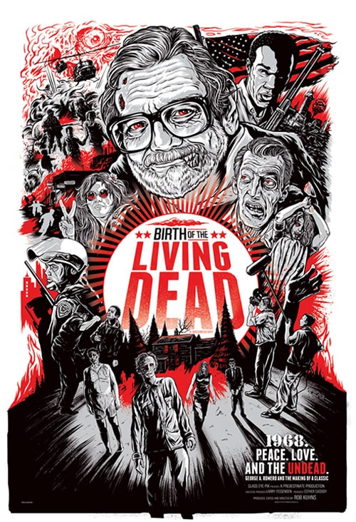 birth of the living dead poster - Documentary Birth of the Living Dead Comes to Life with Release Details