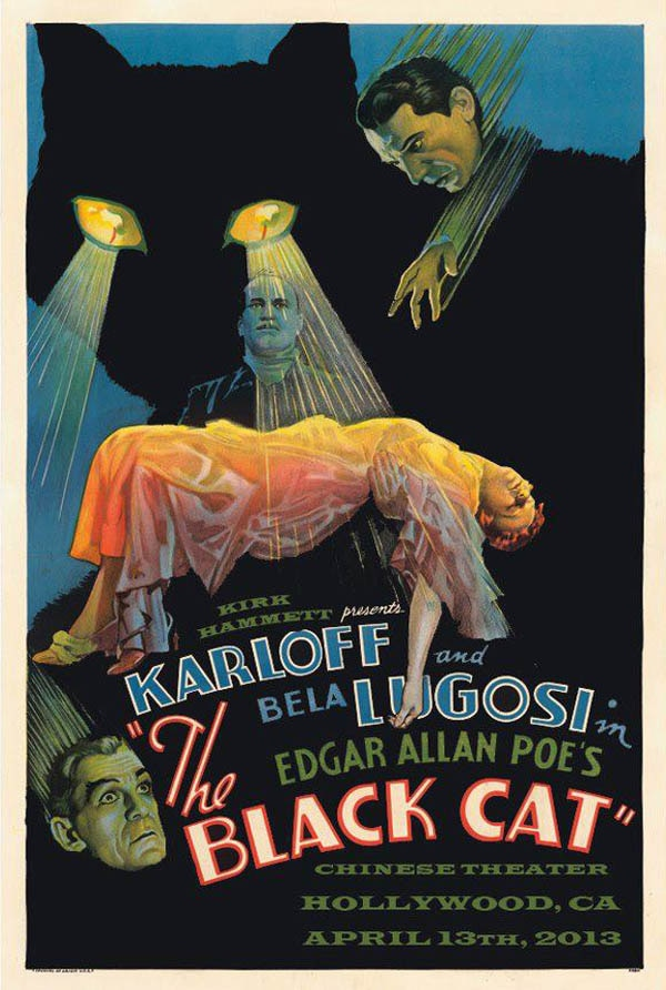black cat - Kirk Hammett and Mad Monster Proudly Present The Black Cat on Saturday, April 13th
