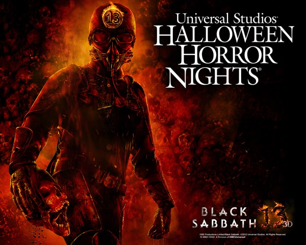 black sabbath 13 art 1 - Attention Freaks - Unite and Go Behind the Scenes of Halloween Horror Nights' Black Sabbath: 13 3D Maze