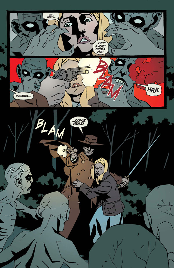 Second Issue of Supernatural Horror Comic Blackburn Burrow Now Available - For Free!