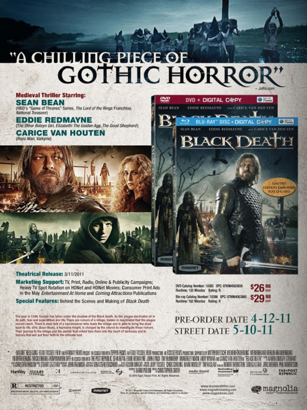 First Look at Christopher Smith's Black Death on Blu-ray and DVD