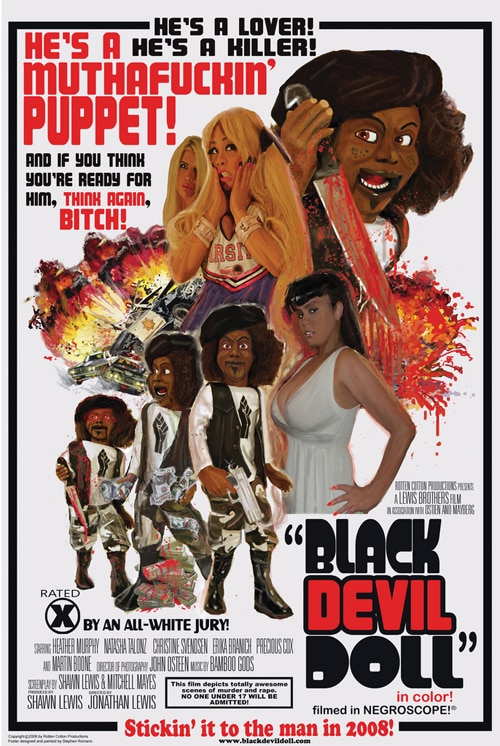 Poster for Black Devil Doll!