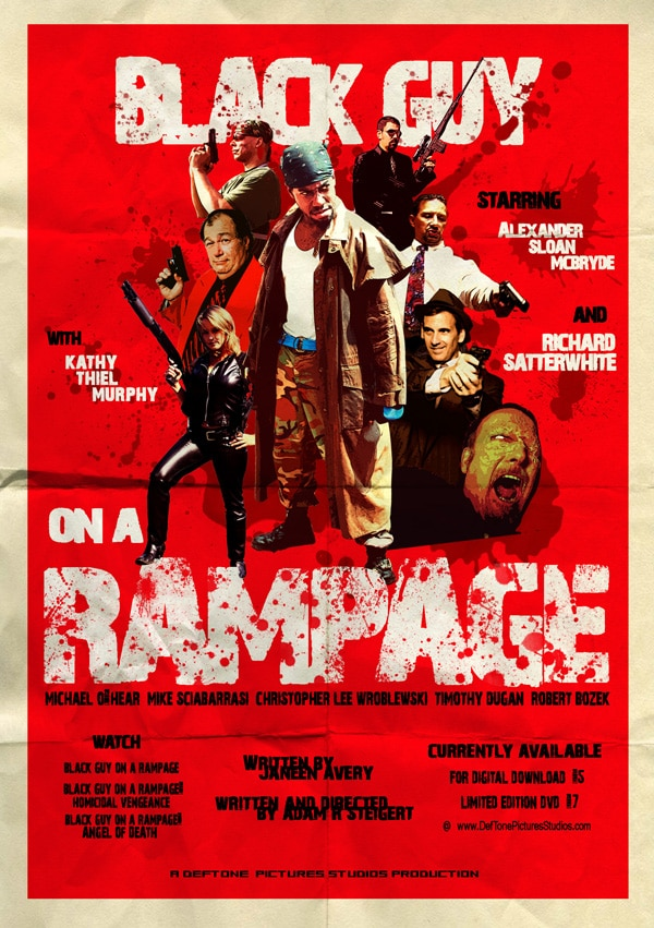 Trailer, Poster, and a Few Stills from Black Guy on a Rampage