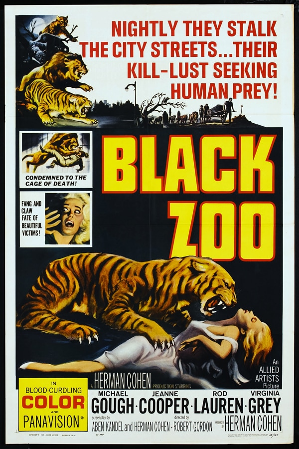 Don't Feed the Animals! Exclusive Clip From the Black Zoo!
