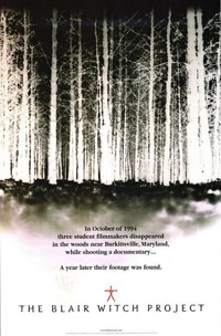 The Blair Witch Project on Blu-ray DVD