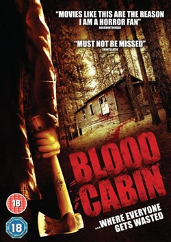 Blood Cabin UK DVD