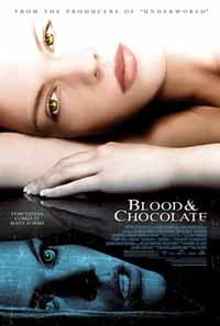 Final Blood & Chocolate poster (click to see it bigger!)