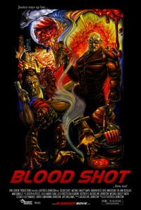 Poster for the short film Blood Shot!