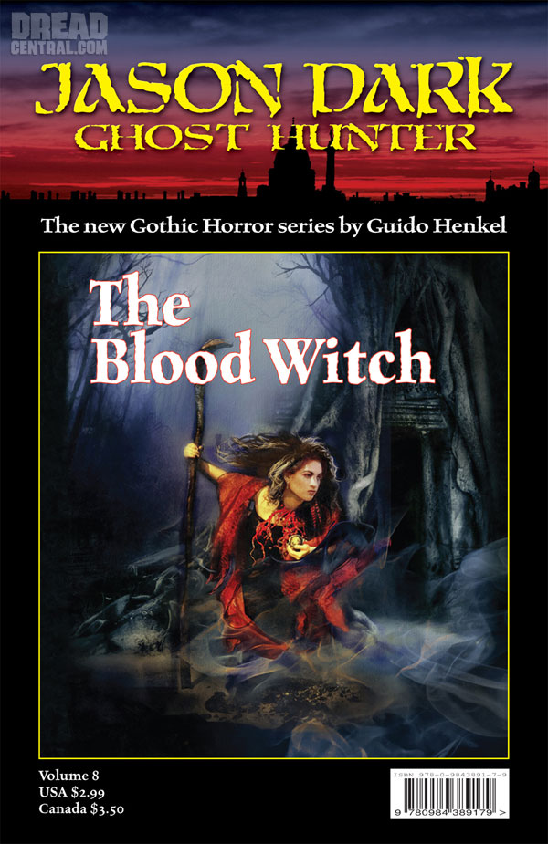 Exclusive Cover Art Debut - Guido Henkel's Jason Dark Ghost Hunter: The Blood Witch
