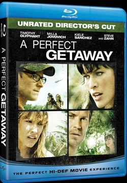 A Perfect Getaway on Blu-ray and DVD