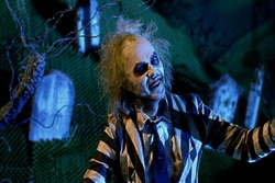 Beetlejuice Blu-ray / DVD Review (click for larger image)