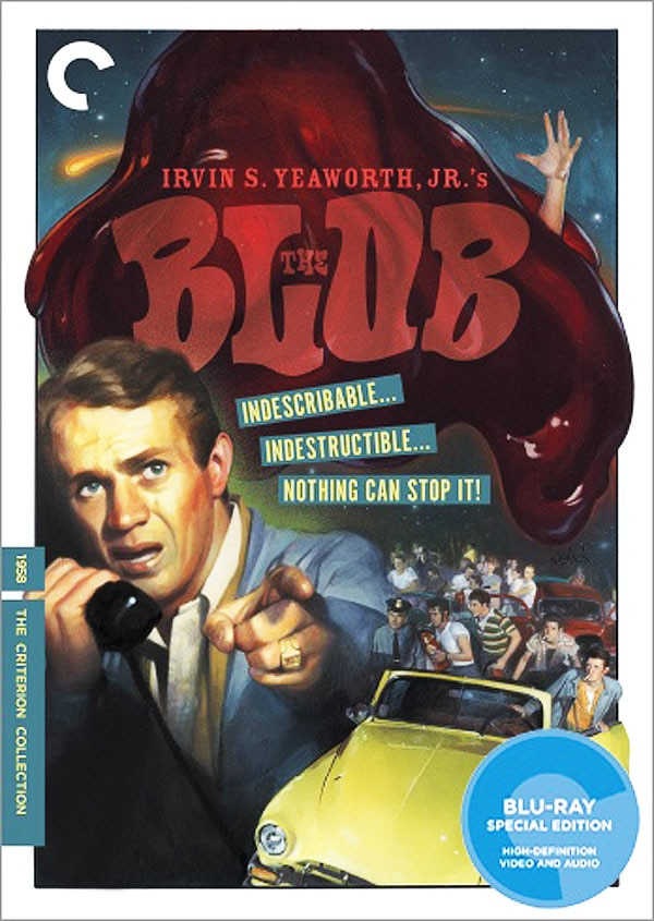 Hallelujah! The Blob (1958) Goes Criterion!