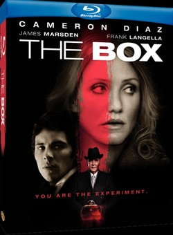 The Box on Blu-ray and DVD