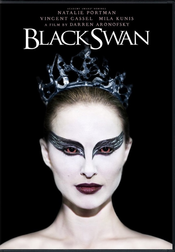 First Look at the Blu-ray and DVD Artwork for Black Swan